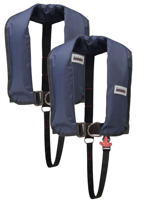 150N Classic ISO Lifejacket LB HR 2er Set