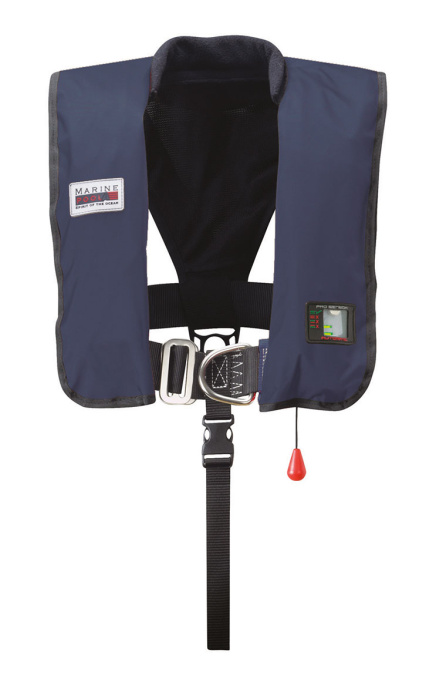 300N Premium ISO Lifejacket LB UML w. Sprayh. & light