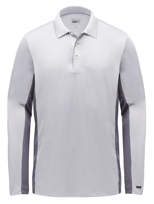 Polo Helston Tec manches longues homme