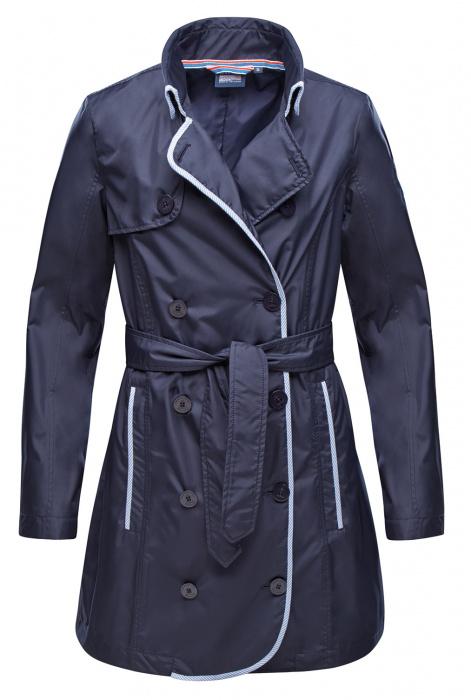 Trench-coat fonctionnel et mode Kendra