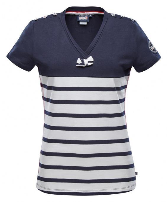 T-Shirt manches courtes rayé Mali