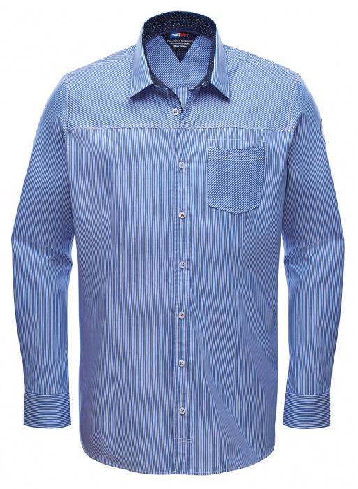 Chemise rayée en coton RR Aldrin pour homme