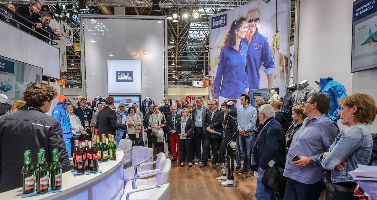 Marinepool auf der boot Düsseldorf Pressekonferenz 2018