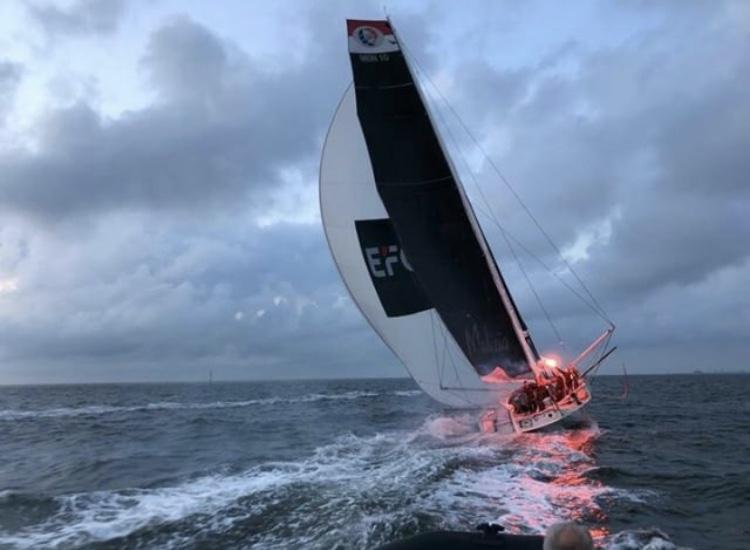 Atlantic Anniversary Regatta (AAR) Finish – spannendes Rennen um Line Honours