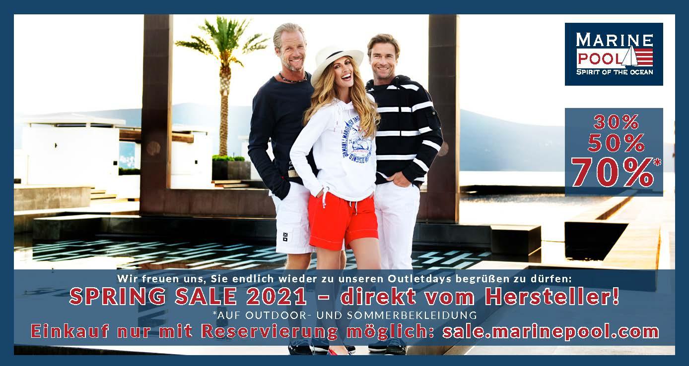 Lagerverkauf - Spring Sale 2021