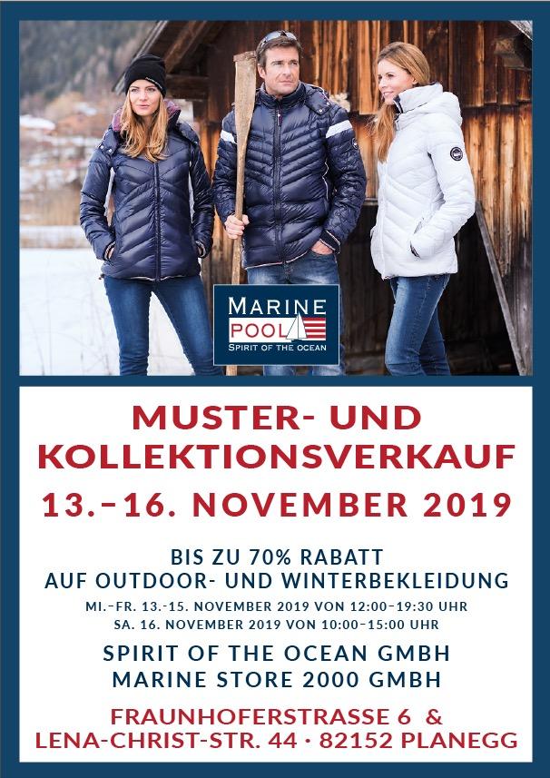 Lagerverkauf Herbst 2019