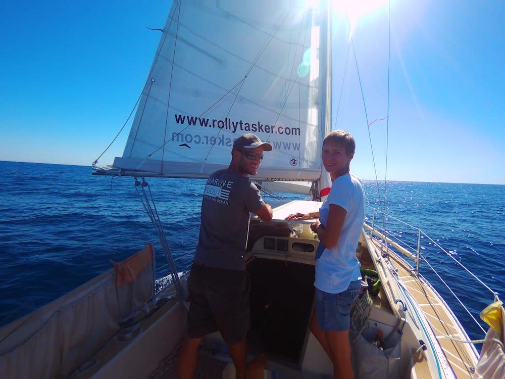 Yacht-Blog: Viele Grüße vom Atlantik von Friederike und Martin Finkbeiner