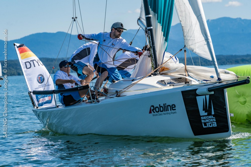 SAILING CHAMPIONS LEAGUE FOR THE FIRST TIME IN GERMANY: SEASON OPENER AT LAKE STARNBERG