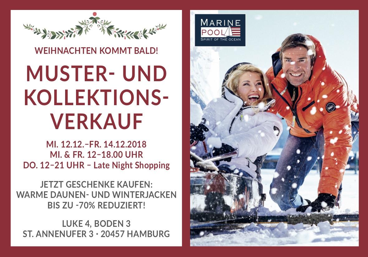 Muster- und Kollektionsverkauf in Hamburg