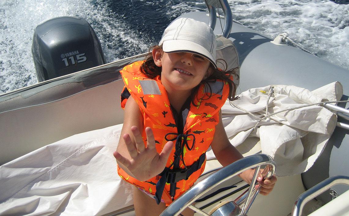 Marinepool gilets de sauvetage pour enfants!