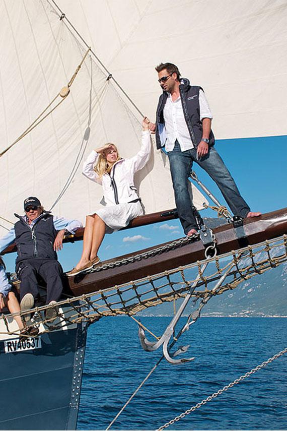 Marinepool sailing